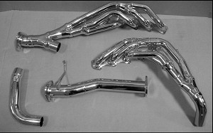 1999-2008 Ford Class A Motorhome F53 Chassis Headers 6.8L V10 with EGR THY-218Y1-S-C